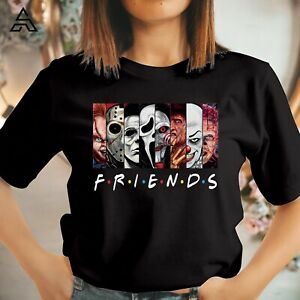 FRIENDS HALLOWEEN HORROR SCARY Friends T-shirt Funny Gift for Friends Shirt 1754