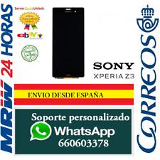 Pantalla Completa para  Sony Xperia Z3 Negra D6603 D6643 D6653 Tactil + LCD