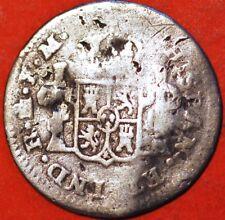 1/2 real 1786 Mo IM Carolus III silver Mexico Spanish Colony