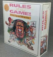 Rules of the Game Sports Trivia Board Game 1995 New Sealed Vintage 90s Football