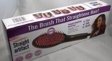 NEW Straight Artifact Ceramic Brush Hair Straightener with LCD Display