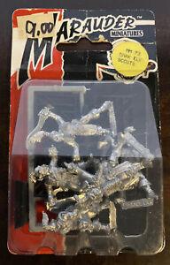 warhammer fantasy dark elf Scouts marauder mm73 whfb oldhammer 1988 Copyright