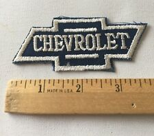 Chevrolet Patch Embroidered , Vintage Rare Chevrolet Patch Awesome