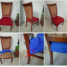 Elastic Seat Covers Wedding Banquet Dining Chair Cover Home Decor Solid Color