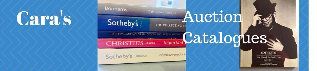 Cara's Auction Catalogues