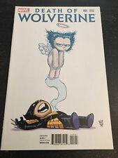 "Death Of Wolverine#1 Incredible Condition 9.4(2014)""Skottie Young Variant"""