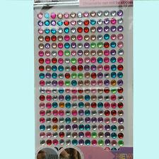 Crystal Stickers Diamond 1pcs Self Adhesive Glitter Rhinestone Gem Decal kids A+
