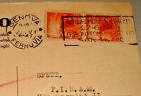 """targhetta """"AUTODROMO DI OSPEDALETTI 27-6-1948 G.P. AUTOMOBILISTICO SAN REMO"""" RRR"""