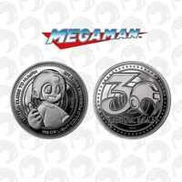 Gold Jeton Megaman Pièce Collector numérotée Limited Coin