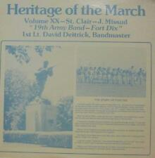 19th Army Band For Dix(Vinyl LP)Heritage Of The March: Volume XX-Ex/NM