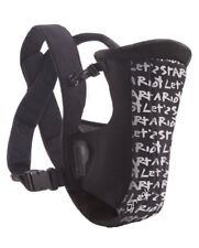 Evenflo Snugli Front Vented Baby Carrier, Riot Black Brand new not in box