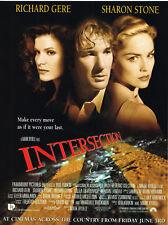 Intersection 1994 Movie Original Film Magazine Ad Advert Richard Gere