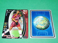 FOOTBALL CARD WIZARDS 2001-2002 MARIO ESPARTERO FC METZ ST-SYMPHORIEN PANINI