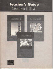 PRENTICE HALL:TEACHER'S GUIDE FOR LECTURAS 1, 2 & 3 - NEW!