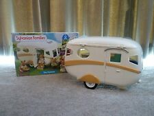 SYLVANIAN FAMILIES THE CARAVAN + ACCESSORIES -  IN ORIGINAL BOX