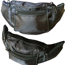 Water Resistant Large Bum Bag Holiday Travel Waist Pack Money Hiking Bumbag Belt