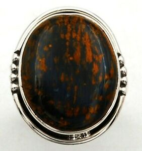 Natural Pietersite - Namibia925 Sterling Silver Ring Jewelry Sz 6, CT26-2