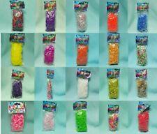 Rainbow Loom Gummibänder aussuchen aus 20 vers. Farben Bänder