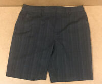 Under Armour Mens Black Plaid Flat Front Golf Shorts Size 38 Free Shipping