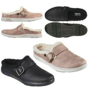 Skechers Womens GoLounge Arch Fit Lounge Laid Back arch Support Slipper Mule