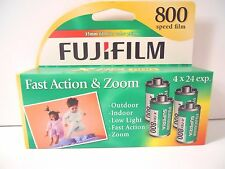 Fuji Film Superia X-tra  800 Speed 35mm  4 Rolls 96 exposures   Exp. 02/2017
