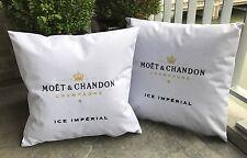 Moet Chandon Champagne 2 x Lounge Kissen 47 x 47 Neu