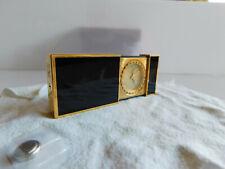 S.T. Dupont Paris Reisewecker Schwarzer Chinalack Vintage Uhr OK Wecker Teilfunk