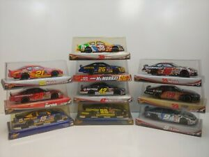 Lot of (10) Winner's Circle 1:24 NASCAR Diecast Cars - Brand New in Box - NC3