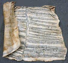 PREMIUM TEXTILE TREE BARK CLOTH TRADITIONAL PAINTING RAFFIA PYGMY DRCONGO ETHNIX
