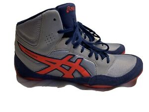 ASICS Snapdown 2 J703Y-020 Mens Wrestling Boxing Shoes SZ 7, Gray Red