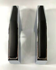 Pair Chrome Front Bumper Guards For 1981-1987 Chevy & Gmc Pickup Truck (Fits: Gmc)