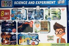8x Science and Experiment Kits Inc. Maths Plants Engineering Chemistry STEM