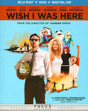 Wish I Was Here (Blu-ray/DVD, 2014, 2-Disc Set, Includes Digital Copy...