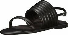 SEE by CHLOE Amy Slingback Black Leather Sandals $270 NEW 6.5  36.5