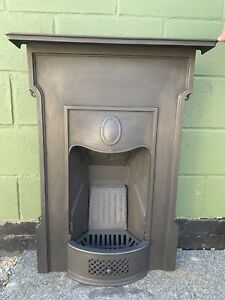 Original  Complete cast iron fireplace Fully Restored  Ready For Fitting £275