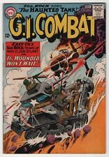 G.I. Combat #108 nice copy 1st Sgt. Rock x-over 1964 Haunted Tank, create-a-lot