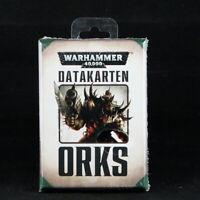 Datagards Orks Deutsch Games Warhammer 40.000 50-02-04 #207