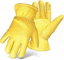 Boss Gloves 7185j Boss Therm Premium Grain Deerskin Leather Driver Jumbo
