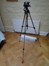 "HAMA STAR 62 ALUMINIUM Camera & VIDEO TRIPOD Maximum Height 52"" 3 WAY HEAD"