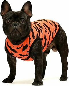 Fitwarm 100% Cotton Halloween Clothes Patriotic Dog Shirts Doggie T-Shirt Tee
