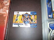 WEST COAST EAGLES - BEN COUSINS SIGNED AFL 2006 MEDAL CARD BROWNLOW
