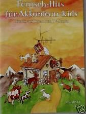 Akkordeon Noten : Fernseh-Hits für Akkordeon Kids leicht - leMittelstufe SIK1166