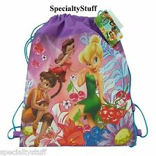 NEW DISNEY TINKERBELL FAIRIES NON WOVEN SLING BAG CLUBHOUSE DISNEY JUNIOR TINKER