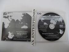 GMC Sierra Yukon Hummer H2 Navigation DVD # 425 4.1c Map © 2008 Edition 2009