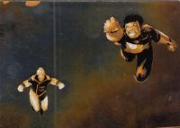 DC EPIC BATTLES CRYPTOZOIC 2014 COPPER PARALLEL BASE CARD #29 ZERO HOUR
