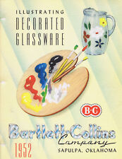 Bartlett-Collins Company - 28 Glass Catalogs on DVD, 1928-1978