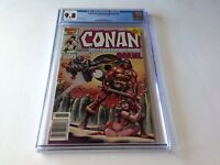 CONAN THE BARBARIAN ANNUAL 11 CGC 9.8 WHITE PAGES NEWSSTAND COPY MARVEL COMICS