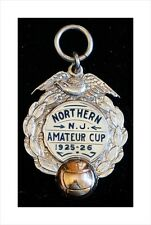 Gold/Sterling Silver American Soccer/Football Medal Northern New Jersey Cup 1926