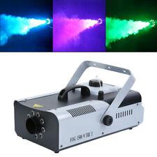 1500W Nebelmaschine RGB LED DJ Fog Smoke Rauchmaschine Nebelgerät Halloween
