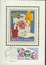 Frankrijk FDC Carte 1974 (056) - Postale Universelle